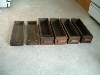 6 vintage antique WHITE Treadle Sewing Machine Wood CabinetDrawers