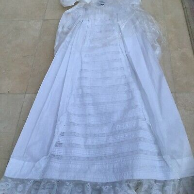 Truly Gorgeous Victorian Lace Christening Gown
