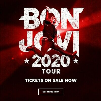 Bon Jovi 2020 CD Presale