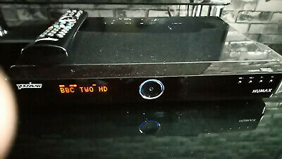 Humax Youview Dtr-T1000 500Gb Freeview Twin Pvr Tv Box Recorder