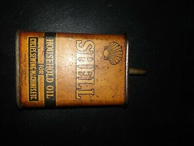 Rare vintage Shell Household Oil Can