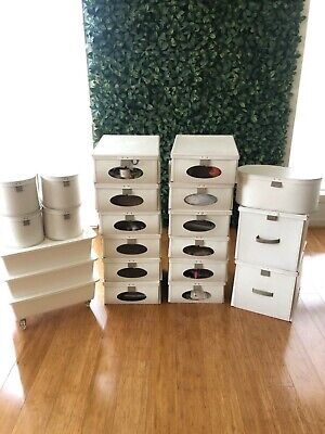 Craft Boxes, Container Tubs Including Lots Of Items Lot!! Wrapping Paper Etc!!