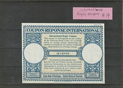 Canada Mint International Reply Coupon No 14