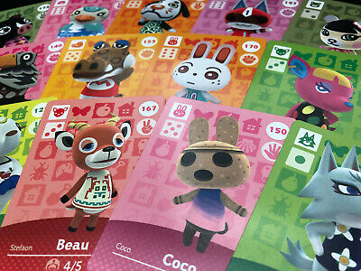 Animal crossing Amiibo Cards - Series 2 - Choose your Villager ! (US version)