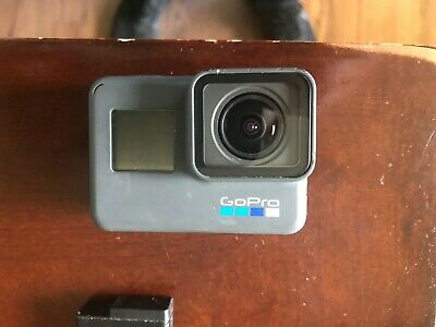 GoPro HERO 6 Action Camera - Black with Smatree G260 Case and USB Type C Cable