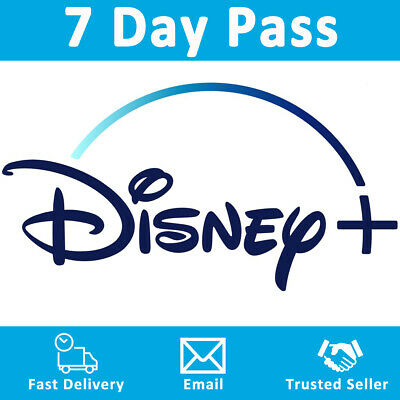 Disney+ Plus 7 Day Pass Subscription 🔥 WORLDWIDE 🌍 No Shared Accounts