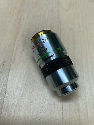 Olympus S Plan 20x Objective Lens for BH-2 or CH-2