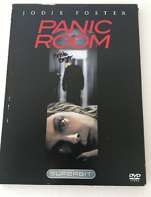 PANIC ROOM By Jodie Foster (DVD 2002 The Superbit Collection) FREE US SHIPPING!