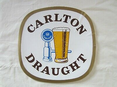 Genuine Vintage Original Carlton Draught Beer Decal - Selling Other Stickers