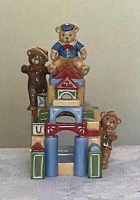 Villeroy And Boch Christmas Toys Building Block House As New In Box