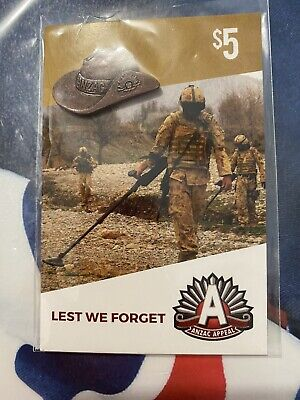 Anzac Day Badges ~ Slouch Hat ~ New & Sealed