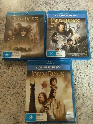 The Lord Of The Rings Trilogy (3-Film Collection) Blu-ray 3-Disc Set