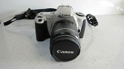 VINTAGE 35 MM CANON EOS 300 CAMERA WITH CANON 28-80 mm LENS