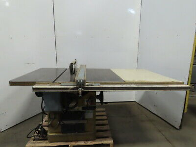 "Powermatic Model 72A 7.5Hp 14"" Tilt Table Saw W/Fence & Blade Guard 208-230/460V"