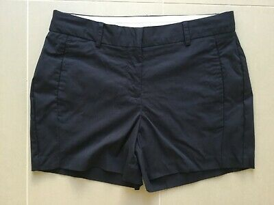 witchery shorts size 10 navy blue