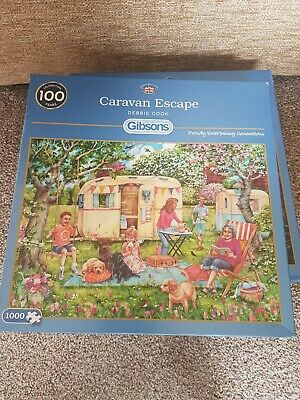 Gibsons jigsaw puzzles 1000 piece used