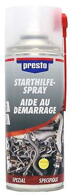 Presto Starthilfespray 400ml Starterspray Kalt Start Spray Startpilot Starthilfe