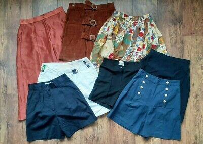 Ladies Womens Skirts & Shorts Wholesale Bundle Joblot X8 Items Branded Unbranded