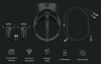 Oculus Rift S PC-Powered Gaming VR Virtual Reality Headset