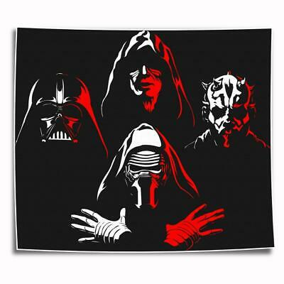 """8""""x10"""" Darth maul star Painting HD on Canvas Home Decor Wall Art Picture posters"""
