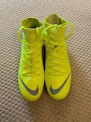 Brand New With Box Nike Superfly 6 Academy SG Football Boots Yellow Size 9
