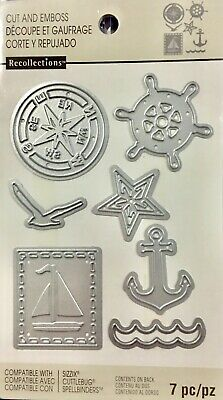 Recollections Cut And Emboss Dies ~Sail Ship Code 508079