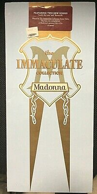 Madonna – The Immaculate Collection - CD Longbox USA - 075992644020 - SEALED MI