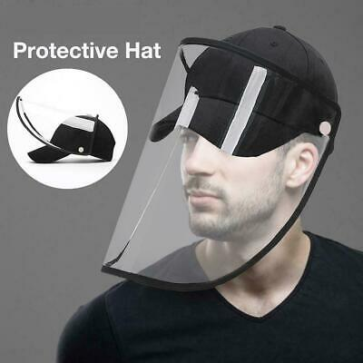 Anti-Saliva Protective Hat Anti-Spitting Full Face Cover Dustproof Safety Shield