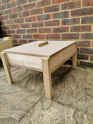 Solid Small Wooden Sand Pit