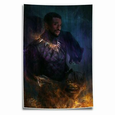 """8""""x14"""" black Panther Painting HD Posters on Canvas Home Decor Wall Art Pictures"""