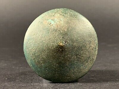 Ancient Roman Bronze Military Legionary Legio Shield Amulet - Circa 100-300Ad