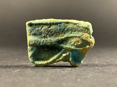 Beautiful Ancient Egyptian Eye Of Horus Amulet Pendant Circa 700-332Bce