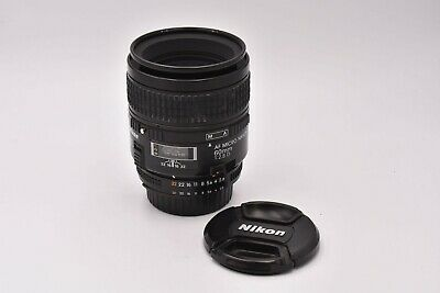 Nikon AF 60mm F/2.8 D Micro NIKKOR Lens Very Good Condition!  #MAP9480