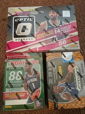 Donruss Optic Target Mega 2019 2020 Nba Hoops 2019-2020 Holiday Edition...