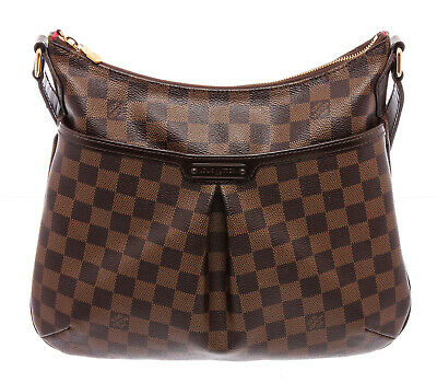 Louis Vuitton Damier Ebene Canvas Leather Bloomsbury PM Crossbody Bag