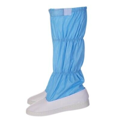 1 Pair Isolation Shoes Anti-static Dust-proof Long Boots Hospital Workwear Shoes