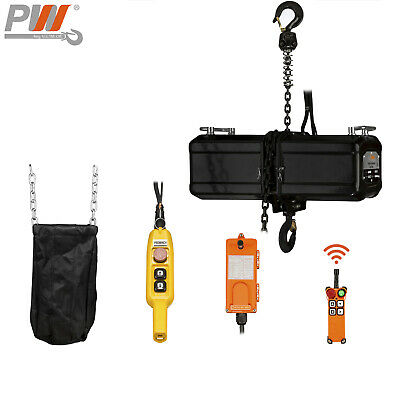 Prowinch 550 lbs Chain Stage Hoist  40 ft. 110/220V Wireless