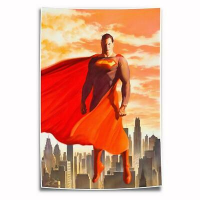 """8""""x12"""" DC Superman Paintings HD Posters on Canvas Home Decor Wall Art Pictures"""