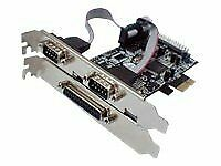 Longshine Parallel/serial adapter PCIe parallel serial 3 ports LCS-6322M