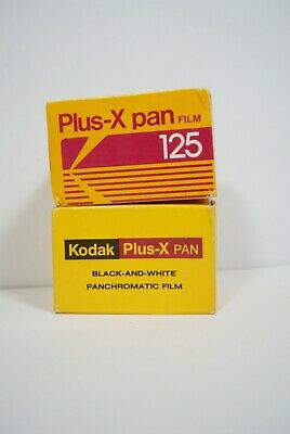 2 Kodak Plus- X Pan 35mm ISO 125 exp PX135-36 135-24 Sealed white black panoram
