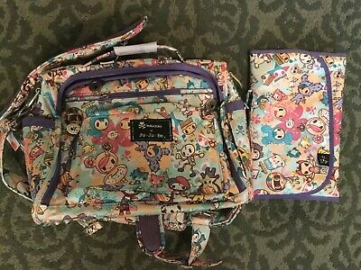 Brand New Jujube Tokidoki Toki Perky Better Be Donuts Latte Diaper Baby Bag
