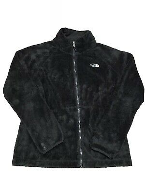 The North Face Full Zip Fleece Black Jacket Size M Womens