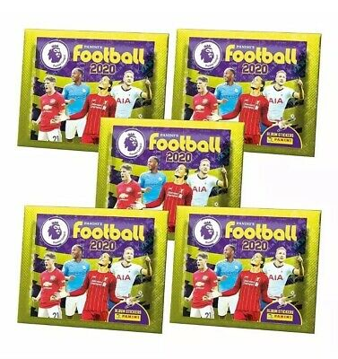 PANINI PREMIER LEAGUE 2020 FOOTBALL STICKERS COLLECTION 25 X New Sealed Packs