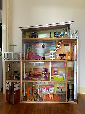 Giant 4 Stories Majestic Mansion Dollhouse