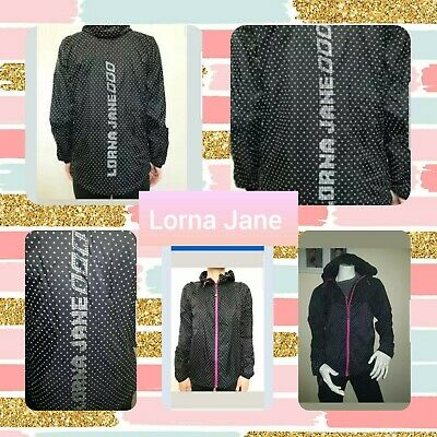 Lorna Jane    Ladies Luminsosity   Print Jacket  Gym Cheer Dance Activewear