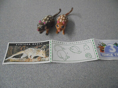 Cadbury Yowie  Eastern Quoll and colour Variant with Green paper Series 1?