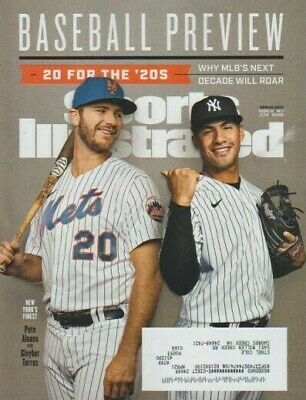 Sports Illustrated Magazine Spring 2020 Baseball Preview Pete Alonso Gleyber Tor