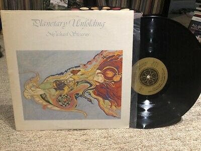 Michael Stearns LP - Planetary Unfolding -original NM on Continuum Montage 1981