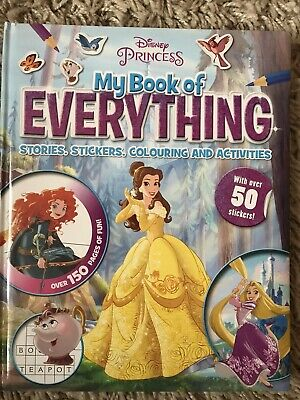 Disney Princess My Book Of Everything Stories,Stickers,Colouring And Activities