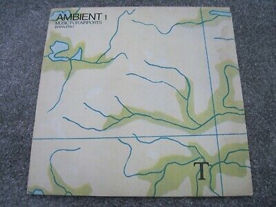 BRIAN ENO Ambient 1 Music For Airports & INNER & INSERT 1978 EG/POLYDOR    EX+